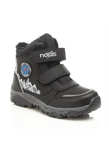 Noxis Noxis Mountain Erkek Çocuk İçi Kürklü Kışlık Trekking Bot Siyah